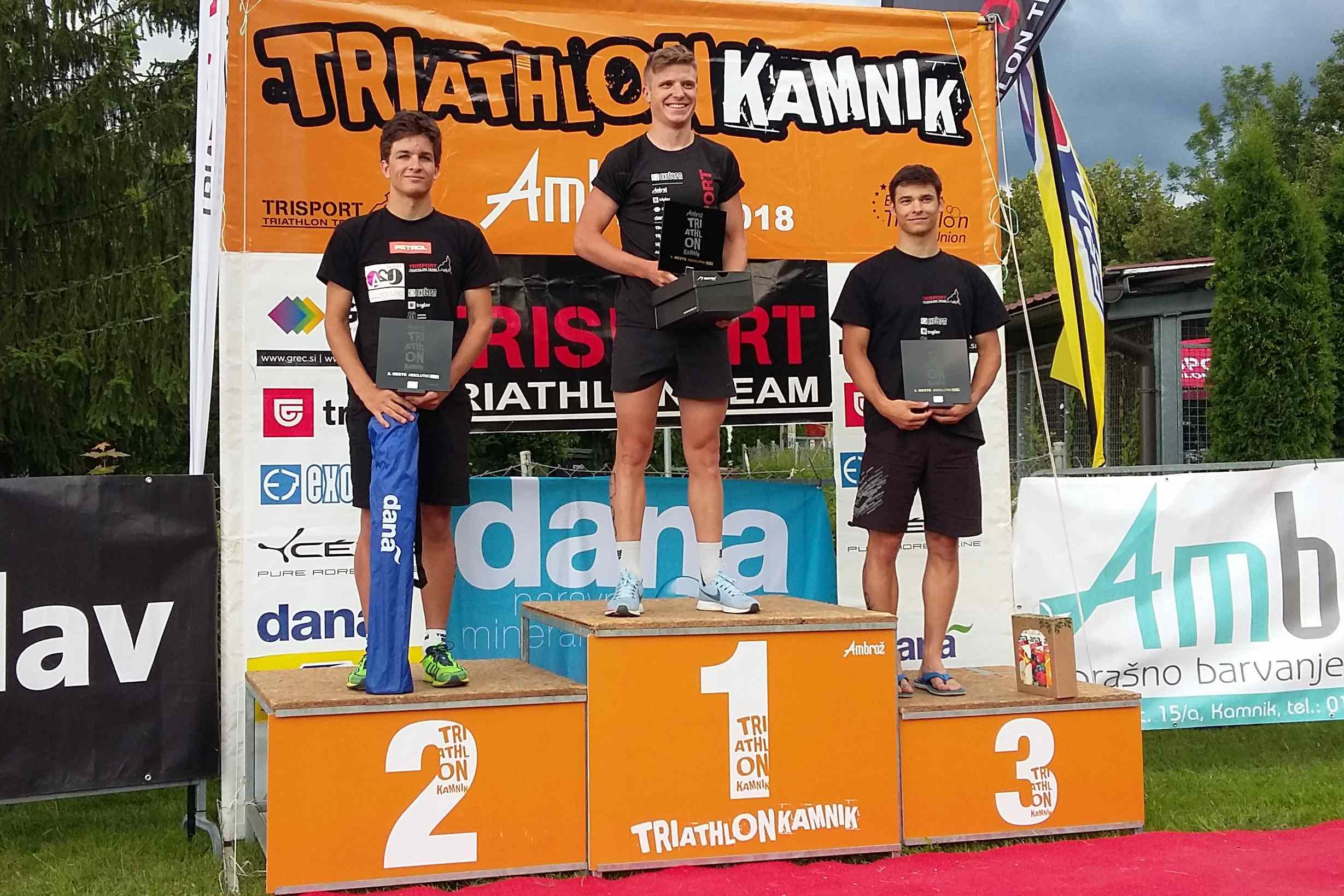 Triatlon Kamnik Ambrož 2018