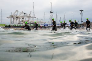 The athletes during Ironman 70.3 Slovenian Istria 2018, on September 23, 2018 in Koper, Slovenia. Photo by Matic Klansek Velej / Sportida